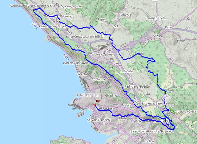 TBT Easy mappa